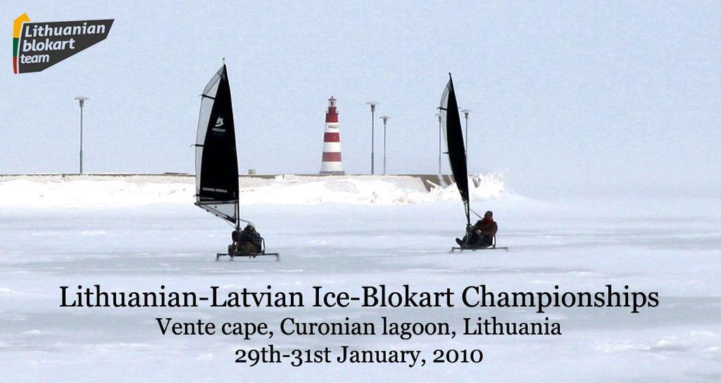 """2010 Lithuanian-Latvian Ice-Blokart Championships"", Lituania"