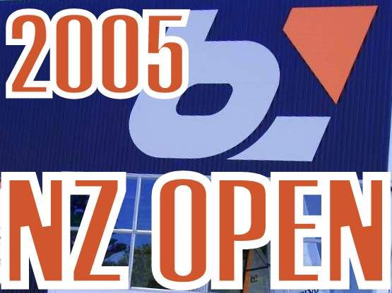 """2005 NEW ZEALAND OPEN"", Papamoa"