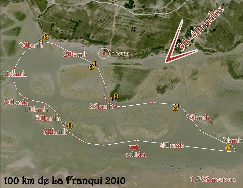 "2010 ""100KM LA FRANQUI"", France"