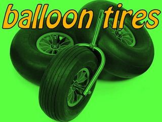 BALLOON TIRES